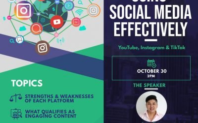 """Using Social Media Effectively"" In Collaboration With The SmartLocal"
