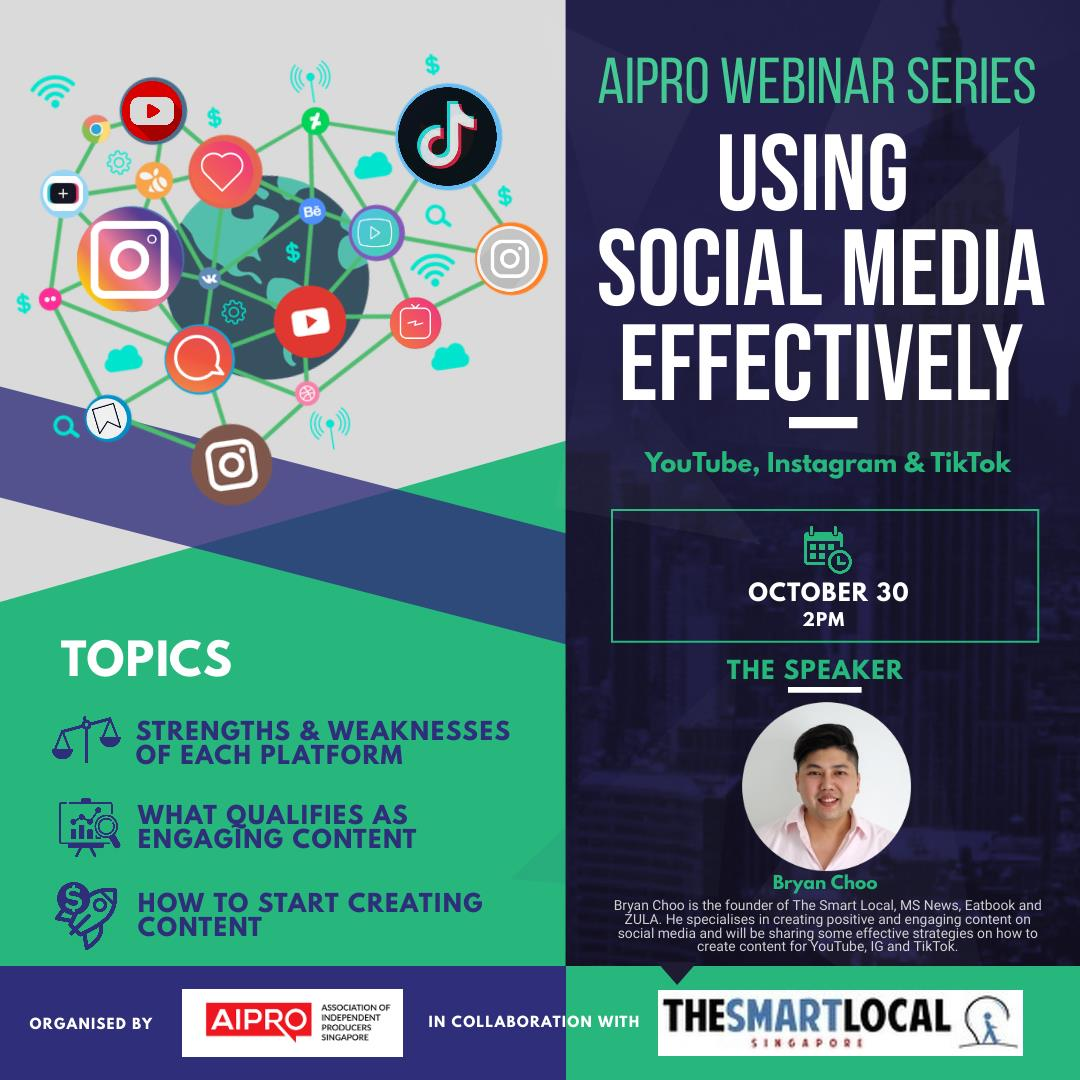 Using Social Media Effectively - In Collaboration with The Smart Local